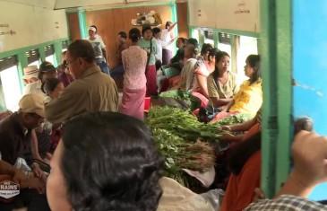 Des trains pas comme les autres : Birmanie