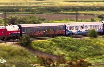 Des trains pas comme les autres : Grèce