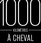 1000 kilomètres à cheval logo de la série de voyage à cheval